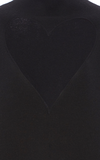 Heart Cut Out Cashmere Turtleneck by PROENZA SCHOULER for Preorder on Moda Operandi