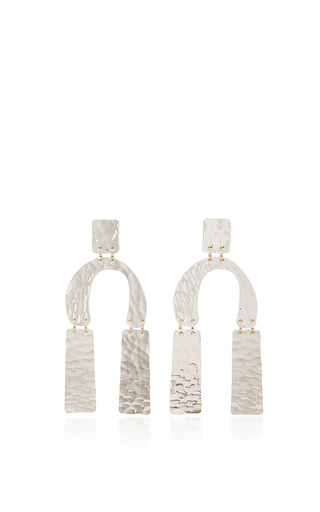 Medium proenza schouler silver medium earrings in silver