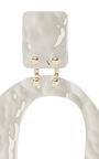 Medium Earrings In Silver by PROENZA SCHOULER for Preorder on Moda Operandi