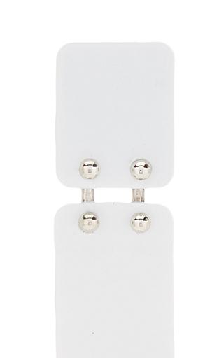 Long Earrings In White by PROENZA SCHOULER for Preorder on Moda Operandi