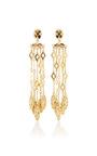 Diamond Tassle C Earring by OSCAR DE LA RENTA for Preorder on Moda Operandi