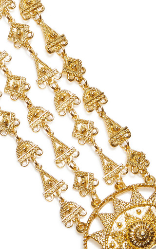 Ornate Charm Bracelet by OSCAR DE LA RENTA for Preorder on Moda Operandi