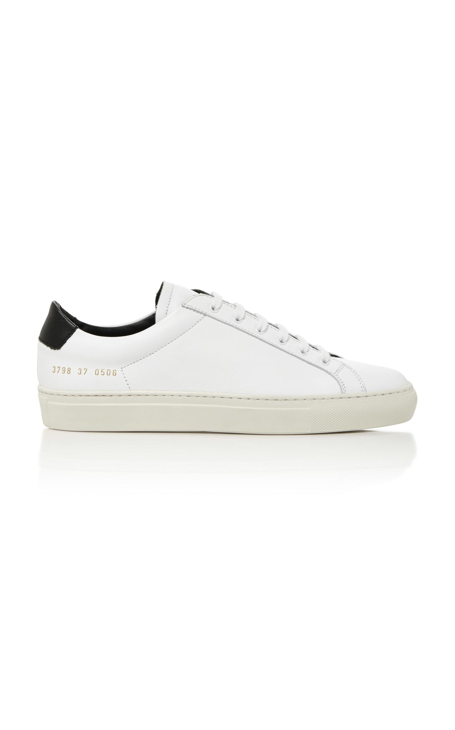 Common Projects Achilles Achilles Projects laceup sneakers Verde 2018 Zapatos d80e9b