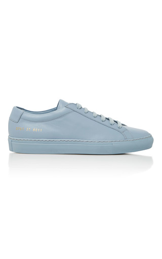 Medium common projects  2 blue achilles retro low sneaker 2