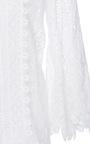 Long Bell Sleeve Jewel Neck Top by OSCAR DE LA RENTA for Preorder on Moda Operandi