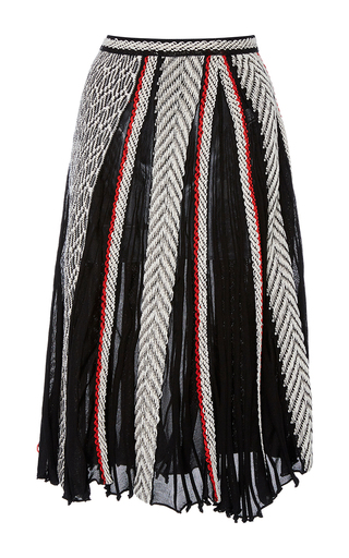 A Line Midi Skirt by OSCAR DE LA RENTA for Preorder on Moda Operandi