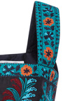 Sleeveless Square Neck Embroidered Cropped Top by OSCAR DE LA RENTA for Preorder on Moda Operandi