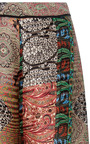 Paisley High Waisted Wide Legged Trousers by OSCAR DE LA RENTA for Preorder on Moda Operandi