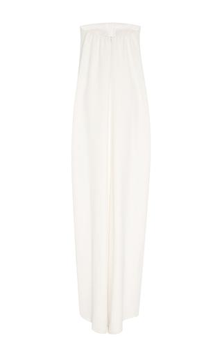 Strapless Column Gown by OSCAR DE LA RENTA for Preorder on Moda Operandi