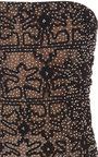 Strapless Pearl Embroidered Dress by OSCAR DE LA RENTA for Preorder on Moda Operandi