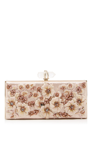 Medium marchesa rose gold simonetta shoulder bag