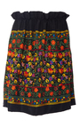 Floral Embroidered Off The Shoulder Mini Dress by NAEEM KHAN for Preorder on Moda Operandi