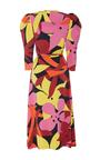Floral Midi Wrap Dress by NAEEM KHAN for Preorder on Moda Operandi