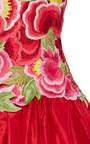 Crochet And Embroidered Garden Ball Gown by NAEEM KHAN for Preorder on Moda Operandi