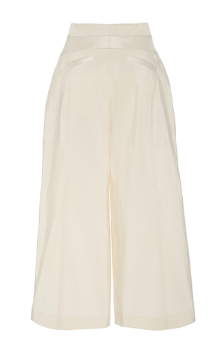 Wide Legged Cropped Pant by NAEEM KHAN for Preorder on Moda Operandi