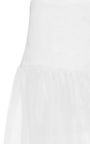 Flounced Hem High Waist Skirt by NAEEM KHAN for Preorder on Moda Operandi