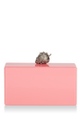 Jean Strawberry Clutch by EDIE PARKER for Preorder on Moda Operandi