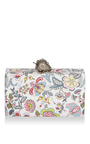 Jean Strawberry Floral Clutch by EDIE PARKER for Preorder on Moda Operandi