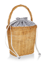 Lily Gingham Basket Tote by EDIE PARKER for Preorder on Moda Operandi