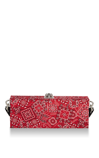 M'o Exclusive Flavia Paisley Clutch by EDIE PARKER for Preorder on Moda Operandi