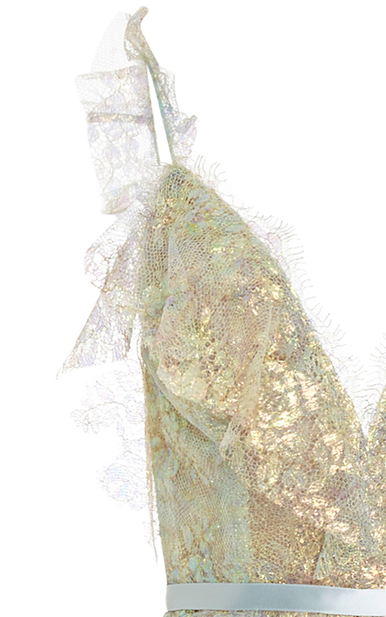 dd134dfaac MarchesaIridescent Lace Gown. CLOSE. Loading. Loading. Loading