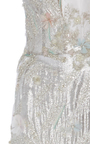 Deep V Fit And Flare Gown by MARCHESA for Preorder on Moda Operandi
