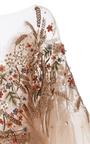 Plunging Neckline Tiered Gown by MARCHESA for Preorder on Moda Operandi