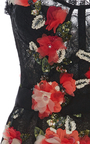 Floral Embroidered Cocktail Dress by MARCHESA for Preorder on Moda Operandi