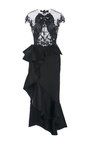 Knee Length Cocktail Dress by MARCHESA for Preorder on Moda Operandi