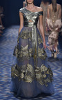 A Line Ball Gown by MARCHESA for Preorder on Moda Operandi