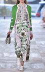 Kendra Contrast Trim Cardigan by TORY BURCH for Preorder on Moda Operandi
