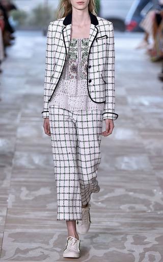 Georgette Ruffle Strap Top by TORY BURCH for Preorder on Moda Operandi