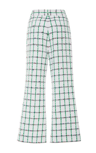 Pocomo Cropped Pant by TORY BURCH for Preorder on Moda Operandi