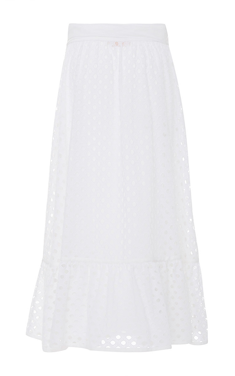 0ff4846603 Tory BurchEyelet Hermosa Midi Skirt. CLOSE. Loading. Loading