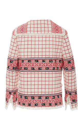 Carlsbad Baja Jacket by TORY BURCH for Preorder on Moda Operandi