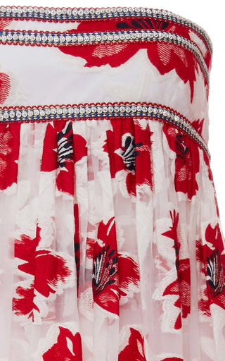 Barrington Floral Embroidered Gown by TORY BURCH for Preorder on Moda Operandi