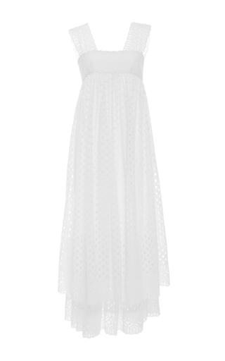 Medium tory burch white hermosa eyelet dress