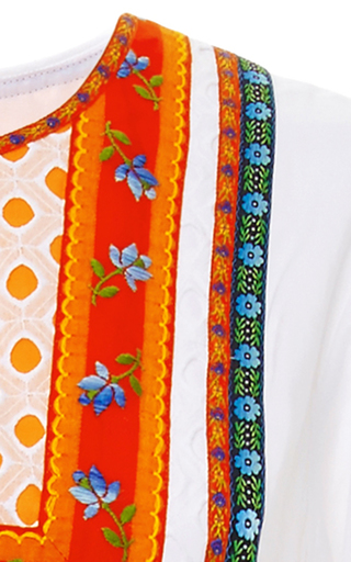 Embroidered Annalise Dress by TORY BURCH for Preorder on Moda Operandi