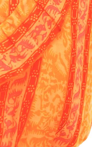 Sunwise Ruffle Top  by TORY BURCH for Preorder on Moda Operandi