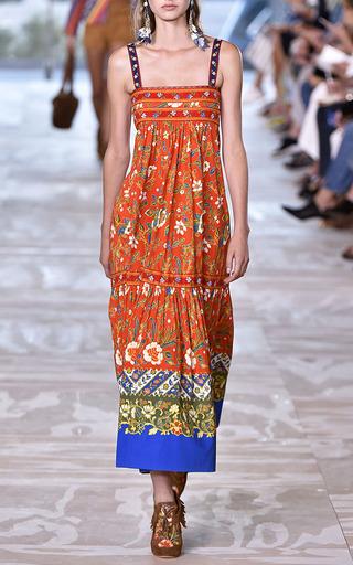 Dayton Peasant Dress by TORY BURCH for Preorder on Moda Operandi