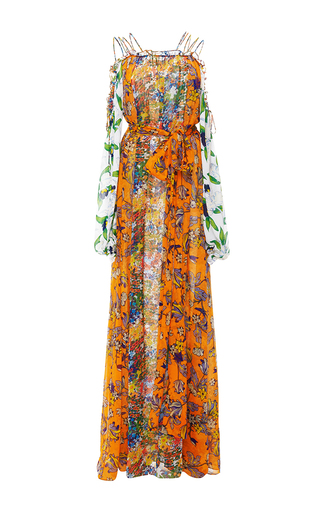 Shasta Open Shoulder Dress by TORY BURCH for Preorder on Moda Operandi