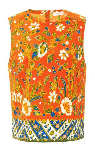 Dayton Cropped Top  by TORY BURCH for Preorder on Moda Operandi