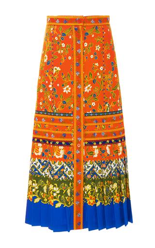 Medium tory burch print dayton pleated skirt