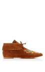 Huntington Flat Bootie by TORY BURCH for Preorder on Moda Operandi