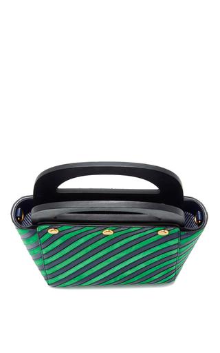 Striped Bermuda Bag by TORY BURCH for Preorder on Moda Operandi