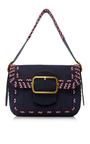Sawyer Stitch Shoulder Bag by TORY BURCH for Preorder on Moda Operandi