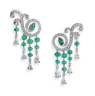 La Esmeralda Earrings by FABERGE for Preorder on Moda Operandi