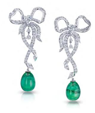 Les Danses Fantasques Luda Earrings by FABERGE for Preorder on Moda Operandi