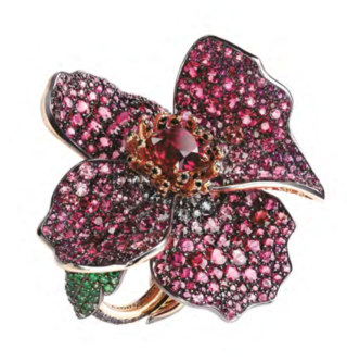 New Poppy Ring by FABERGE for Preorder on Moda Operandi
