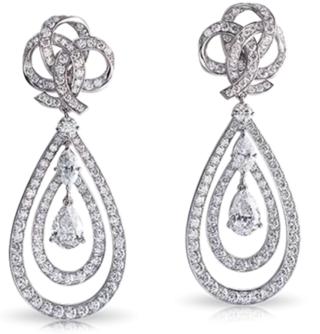 Ruban De Lumière Earrings by FABERGE for Preorder on Moda Operandi